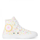 Ditsy Floral Chuck Taylor All Star High Top Little/Big Kids in White