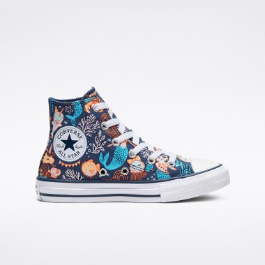 Converse.ca Underwater Party Chuck Taylor All Star High Top Little/Big Kids
