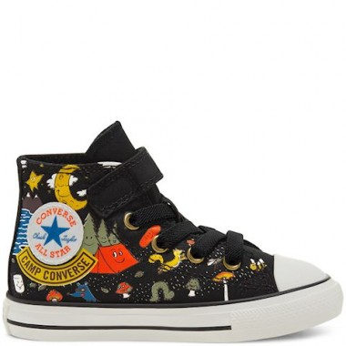 Toddler Camp Converse Easy-On Chuck Taylor All Star High Top