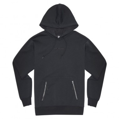 Court Lifestyle Pullover Hoodie Converse Black