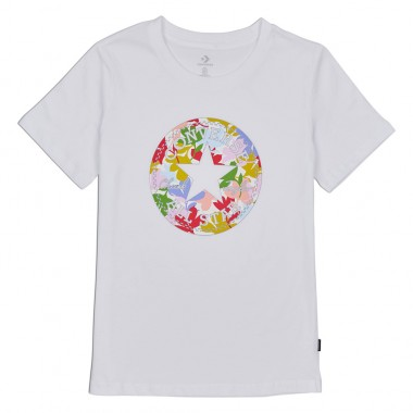 Flower Vibes Chuck Patch Classic Tee White
