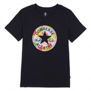 Flower Vibes Chuck Patch Classic Tee Black