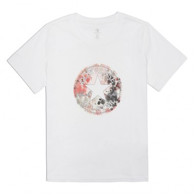 Festival Print Chuck Patch Infill White