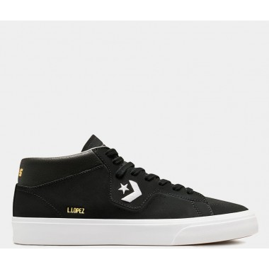 Louie Lopez Pro Suede And Leather Mid Black