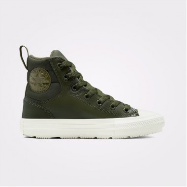 Chuck Taylor All Star Berkshire Boot Leather Hi Olive