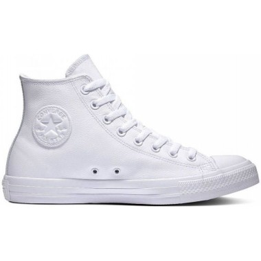 Converse Chuck Taylor All Star Leather Hi White