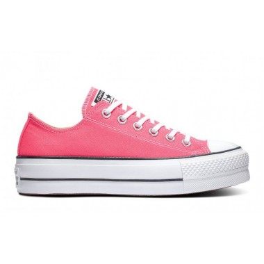 Converse Color Platform Chuck Taylor All Star Low Top Pink