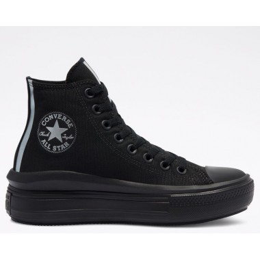 Metallic Chuck Taylor All Star Move Black