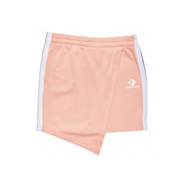 CONVERSE STAR CHEVON TRACK SKIRT  PALE CORAL