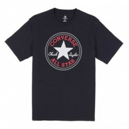 CONVERSE CHUCK PATCH TEE DARK BLACK