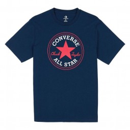 CONVERSE CHUCK PATCH TEE DARK NAVY