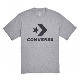 CONVERSE STAR CHEVRON TEE Grey/Black