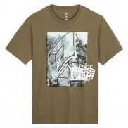 CONVERSE Men Hoop There It Is Photo Tee Green