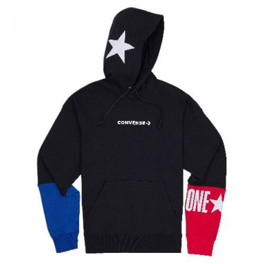 Converse One Star Block Pack PO Hoodie Black