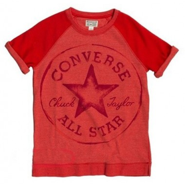 Converse All Star Tee Red