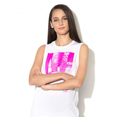 Converse Muscle Tee White