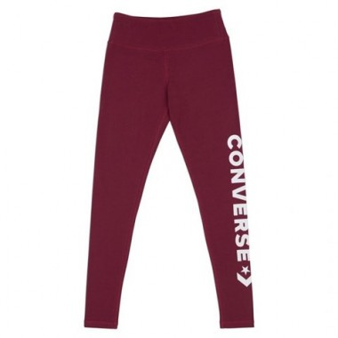 WORDMARK LEGGING CONVERSE Burgundy