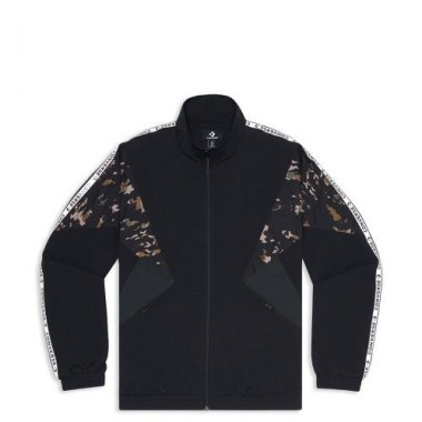Converse Archive Track Jacket  BLACK