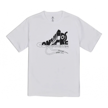 CONVERSE CHUCK WORDMARK GRAPHIC TEE - WHITE