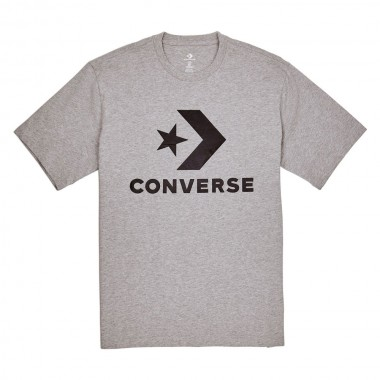 CONVERSE Star Chevron T-Shirt  Gray