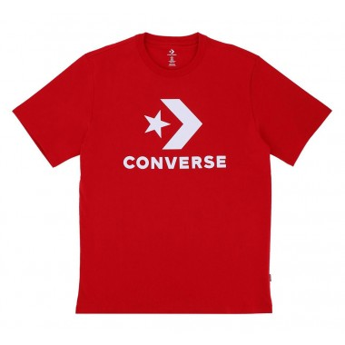Converse Star Chevron T-Shirt Medium Red