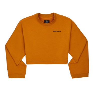 Wide Sleeve Cropped Crew