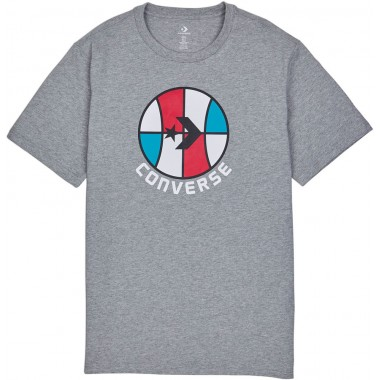 CONVERSE CLASSIC BBALL SS Tee Grey