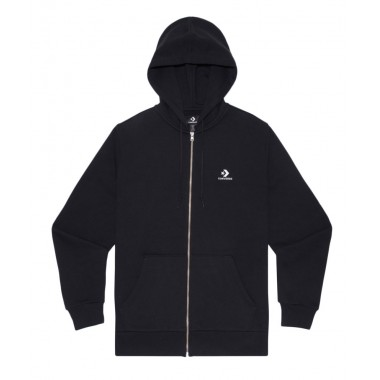 CONVERSE EMB FZ Hoodie FT Men Black