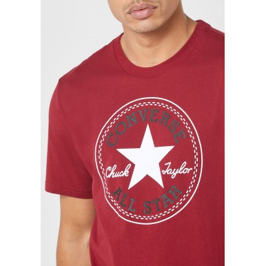 Men's Chuck Taylor Patch T-Shirt in Team Red