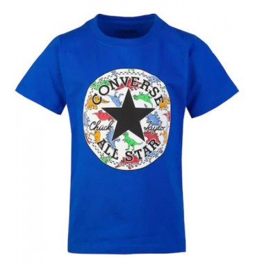 Converse All Star Dinoverse Graphic Tee Blue 4-7 години