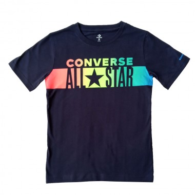 CNVB All Star Gradient Stripe Tee Obsidian 4-7 Години