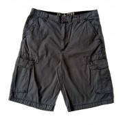 CONVERSE Shorts Washed Look, Outlet Collection Antracite