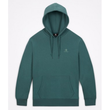 Embroidered Star Chevron Pullover Hoodie BB Forest Pine