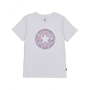 Hybrud FLower Chuck Patch Infill Classic Tee White