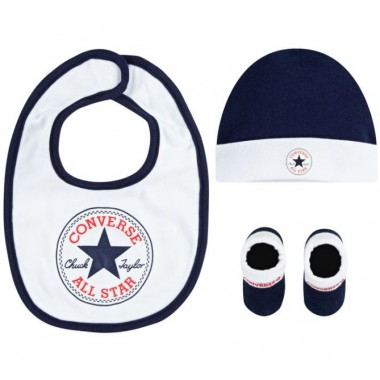 Baby Set 3PSC, Size 0-6 Months Navy/White