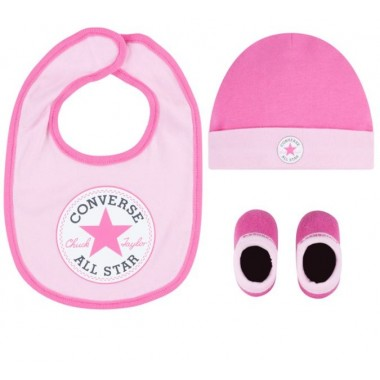 Baby Set 3PSC, Size 0-6 Months Pink