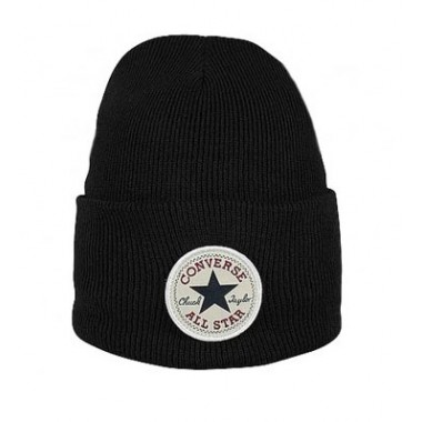 Tall Chuck Patck Beanie Black