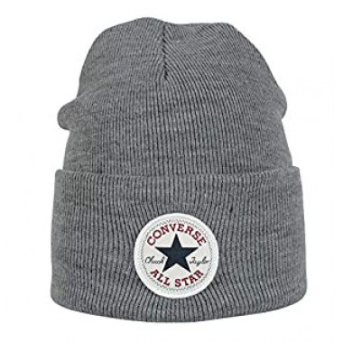 Tall Chuck Patck Beanie Grey