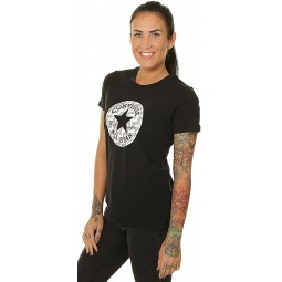 T-SHIRT CONVERSE VOLTAGE CHUCK PATCH NOVA/CONVERSE BLACK - WOMEN´S
