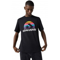 T-Shirt Converse Planet Set Graphic/Converse Black - men´s