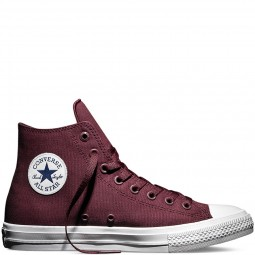 Chuck Taylor All Star II Deep Bordeaux Hi