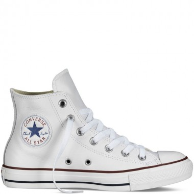 Chuck Taylor All Star Leather White Hi