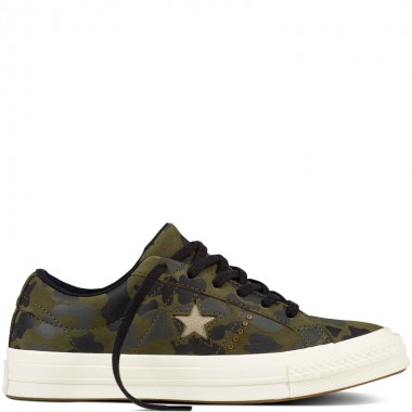 One Star Nubuck Gold Camo Herbal