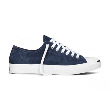 CONVERSE JACK PURCELL SUEDE Navy & White