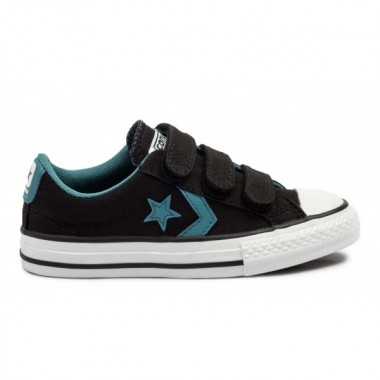 CONVERSE STAR PLAYER 3V BLACK/BLUE/WHITE