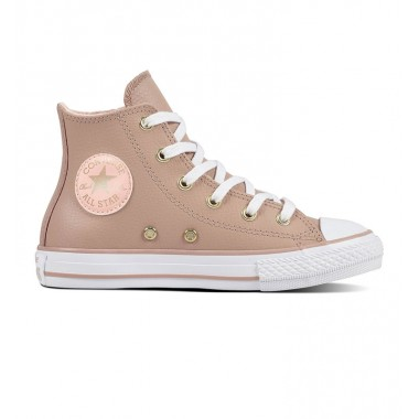 Chuck Taylor All Star Hi Leather Pink