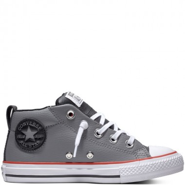 Chuck Taylor All Star Street Leather Mid Maison