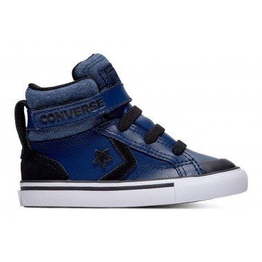 CONVERSE PRO BLAZE STRAP TODDLER HI TOP NAVY/BLACK/WHITE