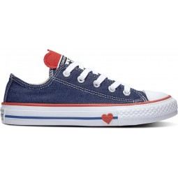 Chuck Taylor All Star Junior Denim Love Indigo