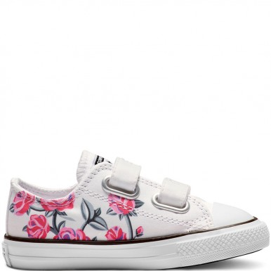 Chuck Taylor All Star Pretty Strong Hook and Loop White